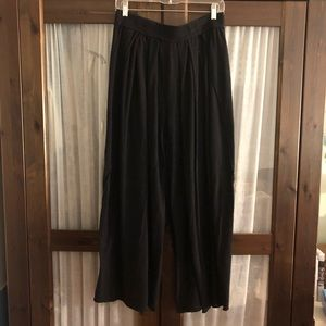 Free people intimately wide leg pants